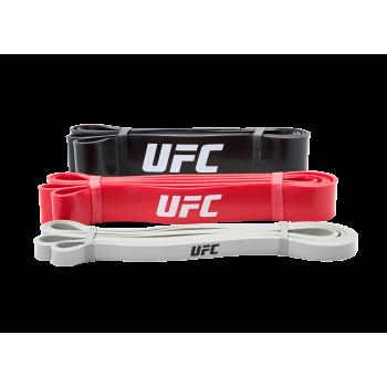 Набор эластичных эспандеров UFC (3 в 1)