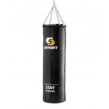 Мешок боксерский E252, тент, 15 кг, черный
