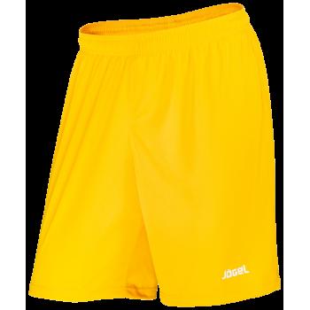 Шорты баскетбольные JBS-1120-041, желтый/белый, детские