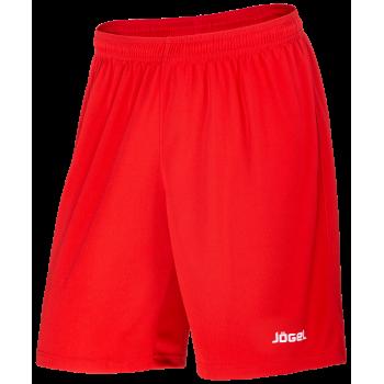 Шорты баскетбольные JBS-1120-021, красный/белый