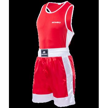 Форма боксерская, детская, красный