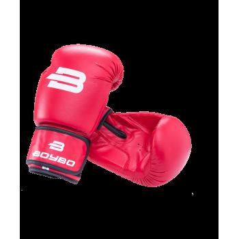 Перчатки боксерские Basic, 6 oz, к/з, красный
