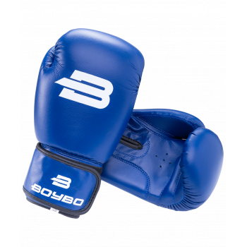 Перчатки боксерские Basic, 8 oz, к/з, синий