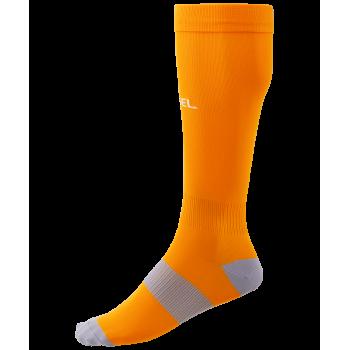 Гетры футбольные JA-006 Essential, оранжевый/серый