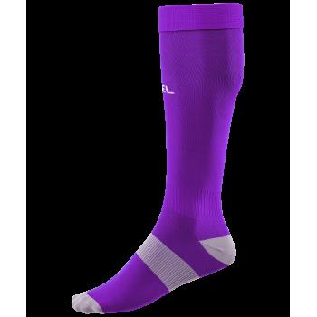 Гетры футбольные JA-006 Essential, фиолетовый/серый