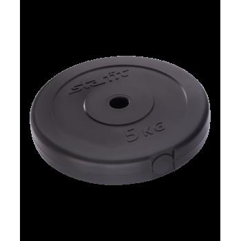 Диск пластиковый BB-203, d=26 мм, черный, 5 кг