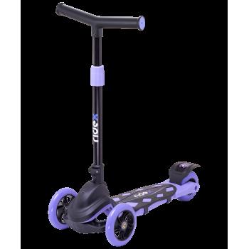 Самокат 3-колесный Robin 3D 120/90 мм, фиолетовый