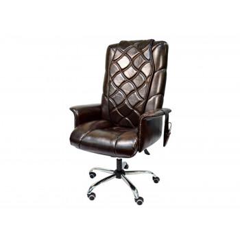 Офисное массажное кресло EGO PRIME EG1003 КОФЕ (Арпатек)