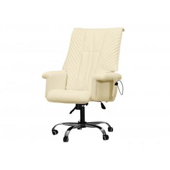 Офисное массажное кресло EGO President EG1005 КРЕМ (Арпатек)