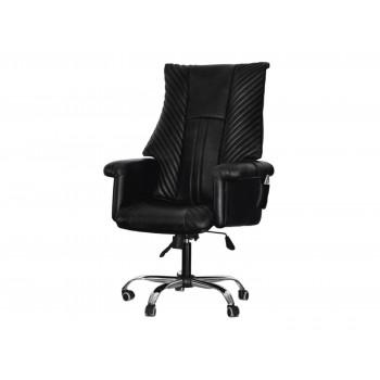 Офисное массажное кресло EGO President EG1005 АНТРАЦИТ (Арпатек)