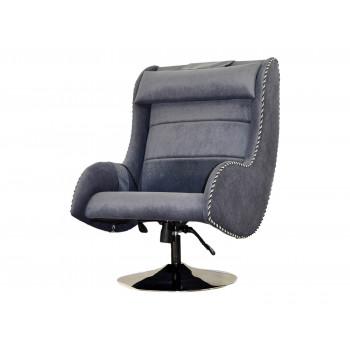 Массажное кресло EGO Max Comfort EG3003 СИЛЬВЕР (Микрошенилл)