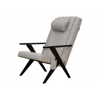 Массажное кресло-шезлонг EGO Bounty EG-3001 СЕРЫЙ (Рогожка)