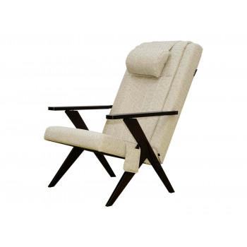 Массажное кресло-шезлонг EGO Bounty EG-3001 БЕЖЕВЫЙ (Рогожка)