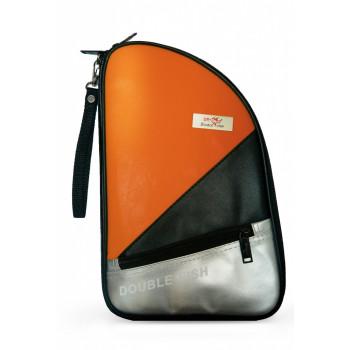 Чехол оранжевый DOUBLE FISH для теннисной ракетки