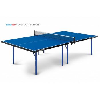 Теннисный стол Sunny Light Outdoor - облегченная модель всепогодного теннисного стола, экономичный вариант