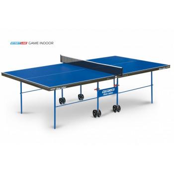 Теннисный стол Game Indoor blue - любительский стол для использования в помещениях