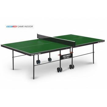 Теннисный стол Game Indoor green - любительский стол для использования в помещениях