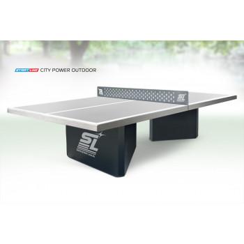 Теннисный стол City Power Outdoor - бетонный антивандальный теннисный стол для открытых площадок.