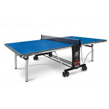 Теннисный стол Top Expert Light blue-  облегченная модель  топового теннисного стола для помещений. Уникальный механизм складывания