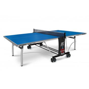 Теннисный стол Top Expert Outdoor blue - всепогодный топовый теннисный стол. Уникальная система складывания