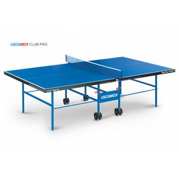 Теннисный стол Club Pro - стол для настольного тенниса в помещении, подходит как для частного использования, так и для школ