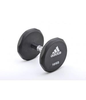 Гантель обрезиненная Adidas 20 кг
