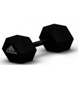 Гантель гексагональная Adidas 2.5 кг