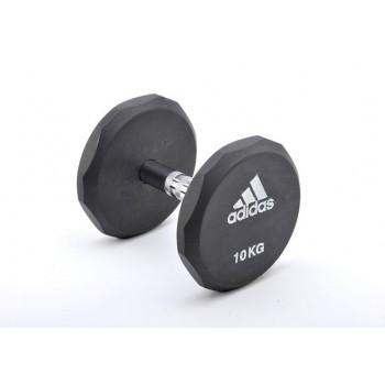 Гантель обрезиненная Adidas 5 кг