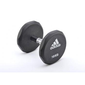 Гантель обрезиненная Adidas 10 кг