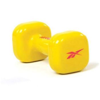 Гантель для фитнеса 3 кг (желтый)