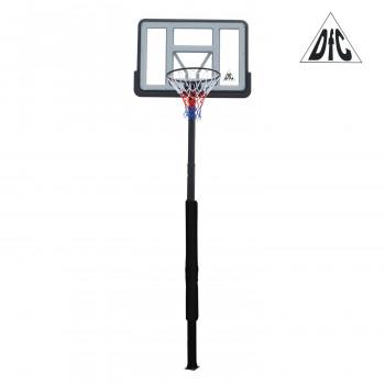 "Стационарная баскетбольная стойка 44"" DFC ING44P3"