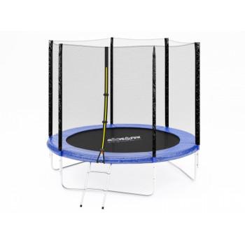 Батут Moove&Fun 8 фт. с защитной сеткой и лестницей