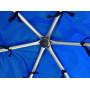 Батут Optifit Like Blue 12ft с синей крышей
