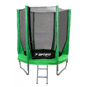 Батут OPTIFIT JUMP 8FT зеленый