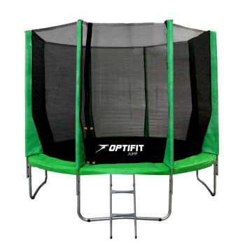 Батут OPTIFIT JUMP 12FT зеленый