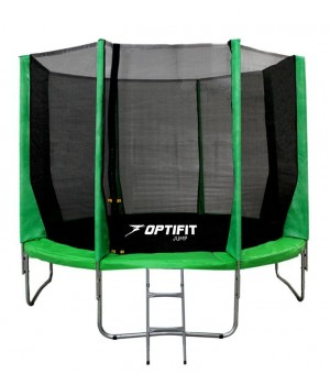 Батут OPTIFIT JUMP 14FT зеленый