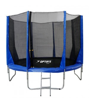 Батут OPTIFIT JUMP 14FT синий