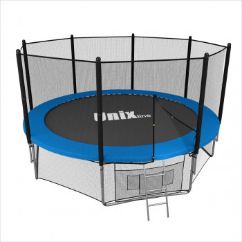 Батут Unix 14 ft outside (blue)