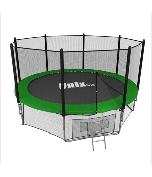 Батут Unix 14 ft outside (green)