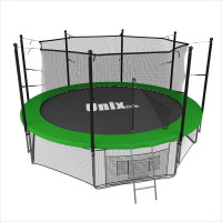 Батут Unix 10 ft inside (green)