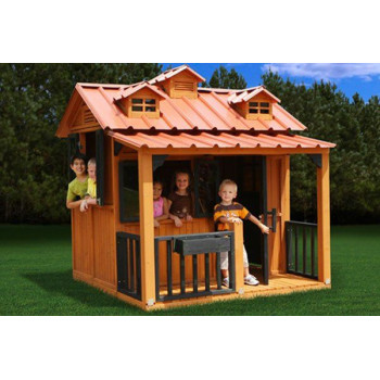Деревянный домик PlayNation Гномик