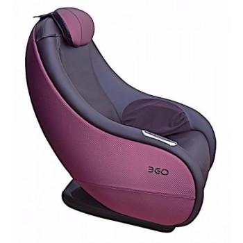 Массажное кресло EGO Lounge Chair EG8801 Брусника