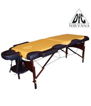 Массажный стол DFC NIRVANA Relax (горчичный с коричневым)