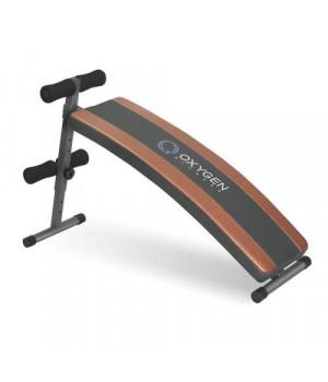 Скамья для пресса изогнутая Oxygen arc sit up board
