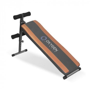 Скамья для пресса прямая Oxygen flat sit up board