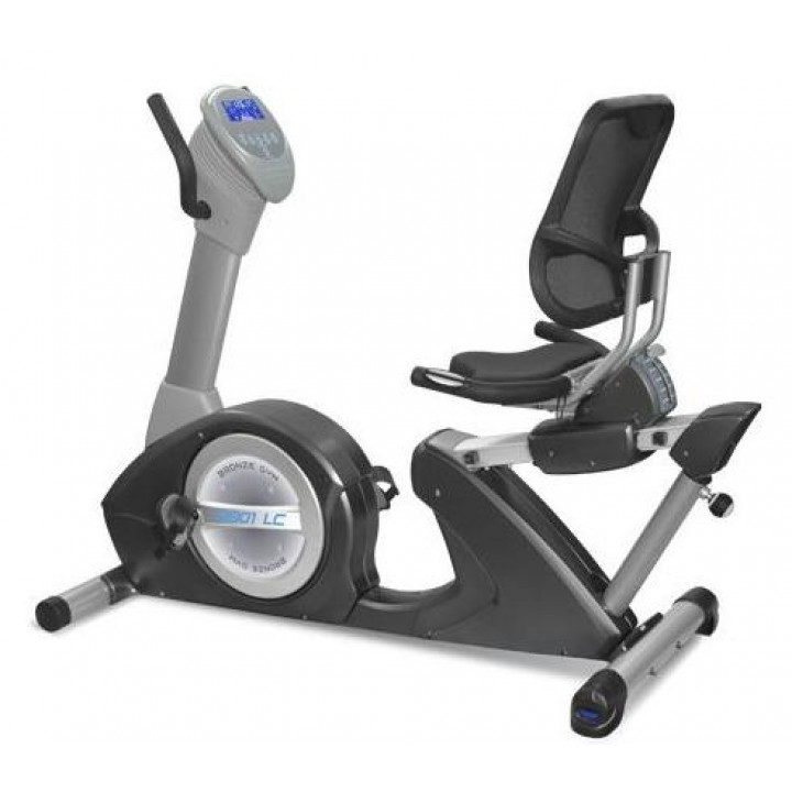 Горизонтальный велоэргометр Bronze Gym R801 LC