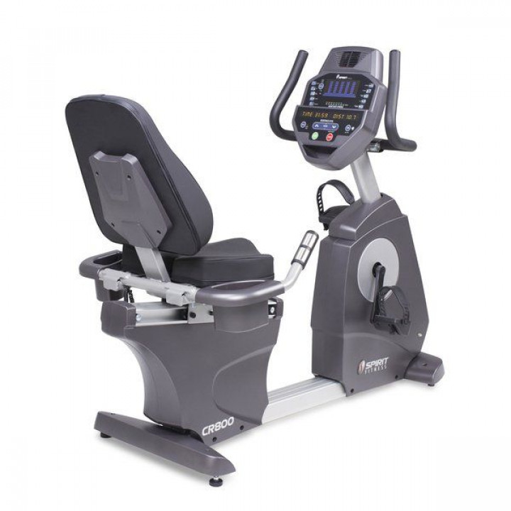 Горизонтальный велотренажер Spirit Fitness CR800