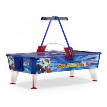 Аэрохоккей «Ice & Fire Gold» 8 ф (красно-синий-золотой, жетоноприемник/купюроприемник)
