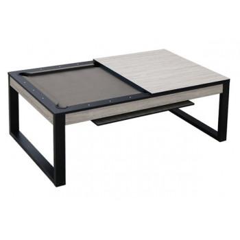 Бильярдный стол для пула «Pride» 7 ф (беленый дуб) со столешницей, в комплекте аксессуары + сукно