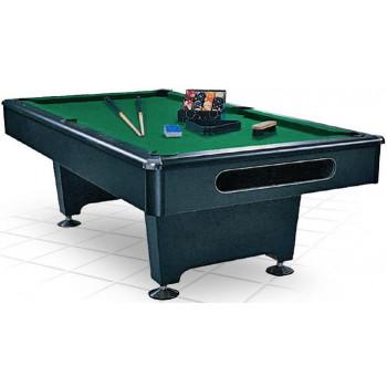 Бильярдный стол для пула «Eliminator» 7 ф (черный) в комплекте, аксессуары + сукно